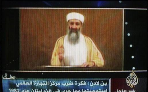 Bin Laden bedreigt VS weer in nieuwe boodschap