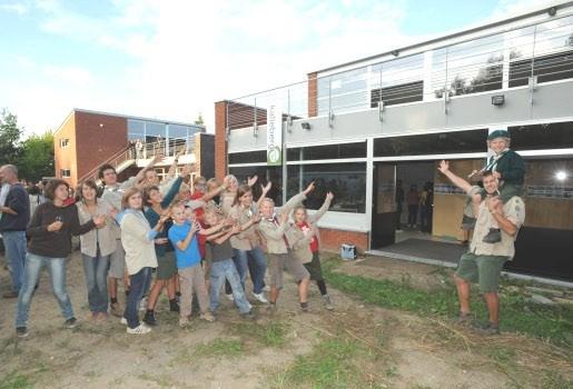 Scouts openen nieuwe basis