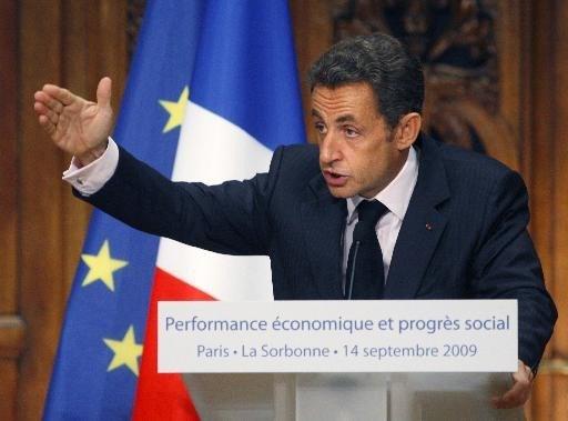 Sarkozy wil af van bbp als welvaartsindicator