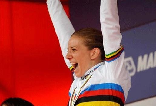 Tatiana Guderzo verovert wereldtitel bij vrouwen