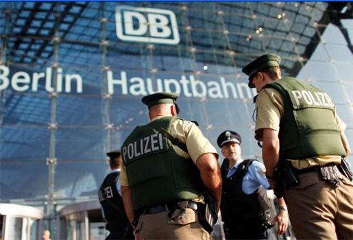 Duitsers erg alert na dreigementen