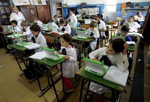 Elk lagere schoolkind in Uruguay heeft een laptop