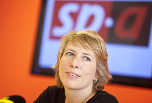 Sp.a schaart zich achter voorzitter Caroline Gennez