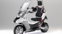BMW C1-E: elektrisch en overdekt