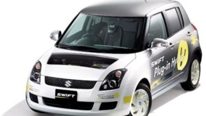 Suzuki Swift Hybrid: in het stopcontact