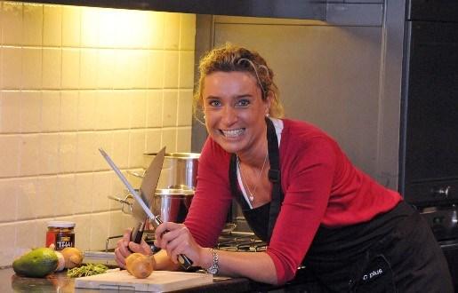 Tessa Knaeps kookt voor burgemeester