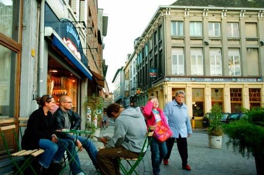 Mechelen maakt werk van restauratie cafés Nauwstraat