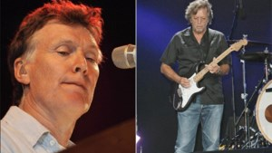 Eric Clapton en Steve Winwood op 23 mei in het Sportpaleis