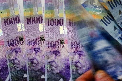 Zwitserse frank op hoogste niveau sinds maart