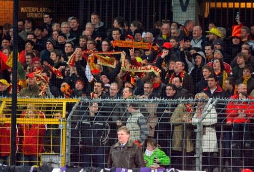 Stadion Red Star Waasland scoort niet
