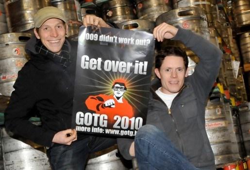 Maarten en Jan organiseren vijfde 'Get on the Guestlist'