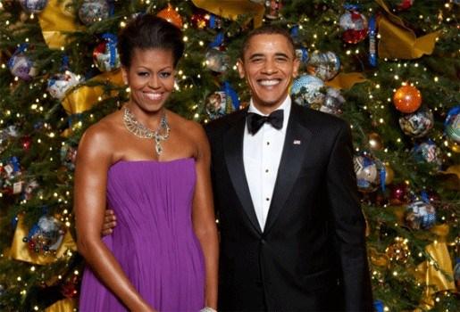 Obama's brengen feestdagen door op Hawaï