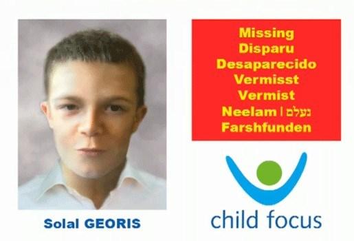Child Focus start internationale campagne voor Brussels jongetje (10)