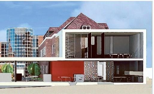 Twijfels bij moderne uitbreiding van gemeentehuis
