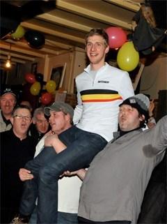Kampioen Geert Wellens krijgt koninklijke ontvangst