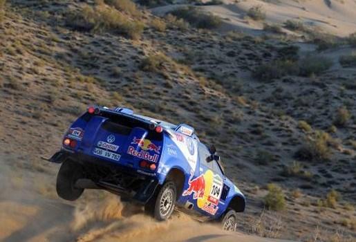 Al-Attiyah wint negende rit in Dakar Rally