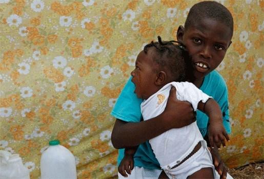 Veel aanvragen voor adoptie Haïtiaantje
