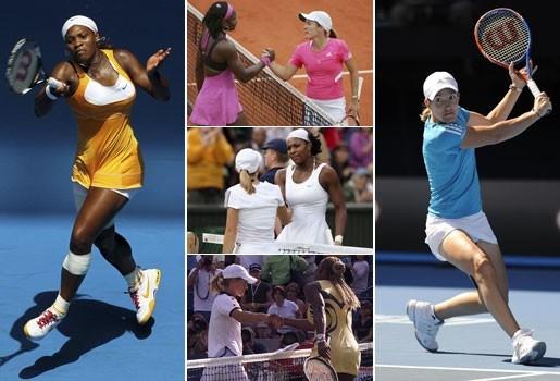 Henin-Serena Williams: een historisch duel