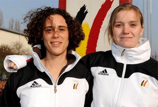 Remprobleem op training voor Belgische bobsleevrouwen