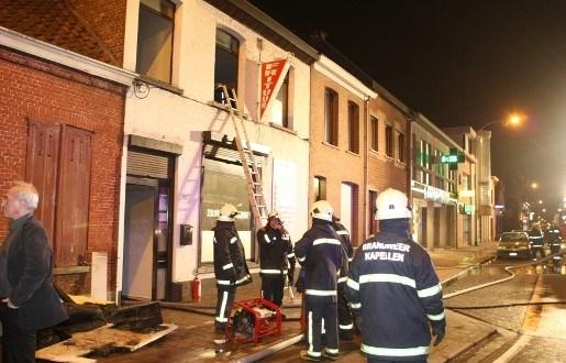 Meer rook dan vuur bij brand frituur Zilverenhoekske