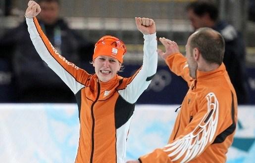 Derde schaatsgoud voor Nederland binnen dankzij Wüst