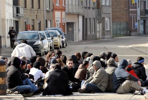 Ontgoochelde Koerden protesteren in Brussel