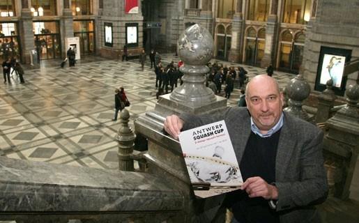 Beste squashers ter wereld strijden in Antwerpen Centraal om trofee