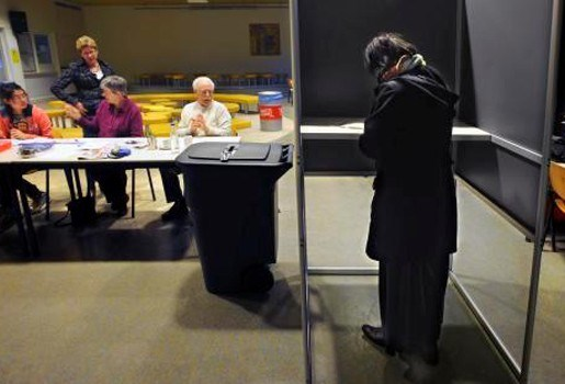 Hertelling van alle stemmen in Rotterdam