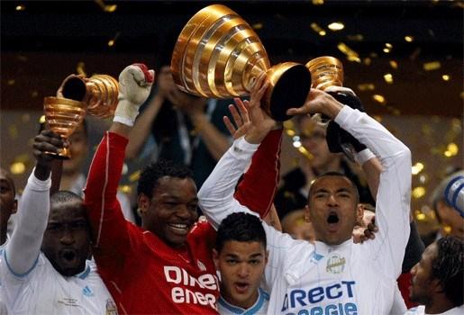 Olympique Marseille verovert Franse Ligabeker