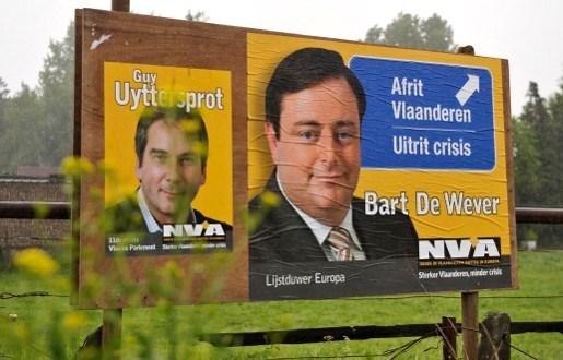 Peiling duidt N-VA aan als tweede partij in Vlaanderen