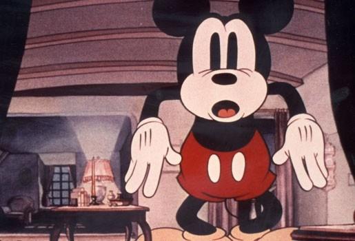 Mickey, Donald en Pluto even ingeruild voor seksshow
