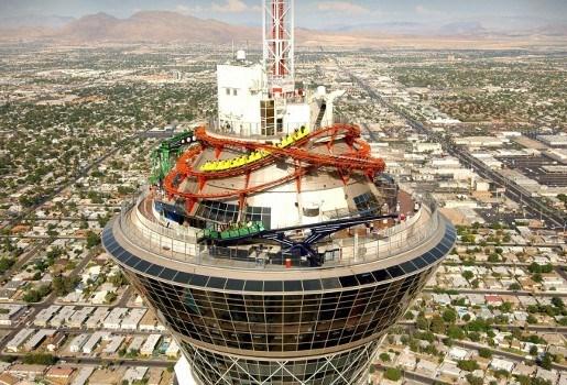 Las Vegas pakt uit met hoogste skyjump ter wereld