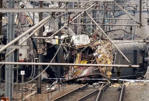 Machinist die treinramp overleefde weer aan het werk
