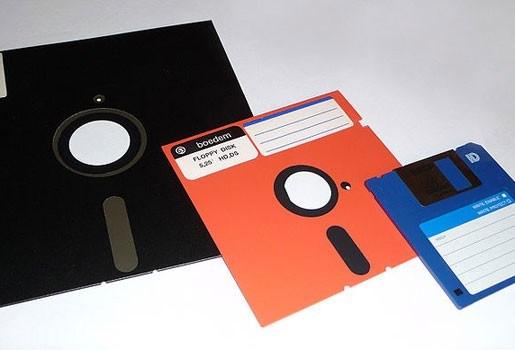 Floppy disk dood en begraven na productiestop Sony