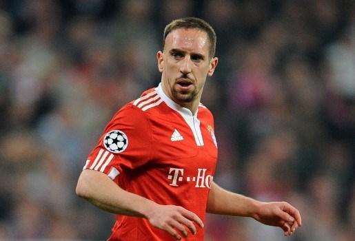Ribéry mist finale Champions League door rode kaart