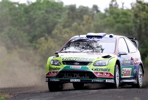 Jari-Matti Latvala is lachende derde in Nieuw-Zeeland
