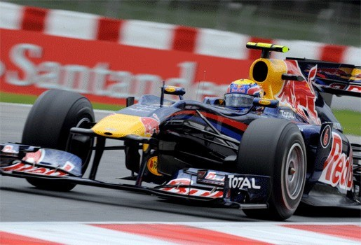 Mark Webber verzilvert pole in Barcelona
