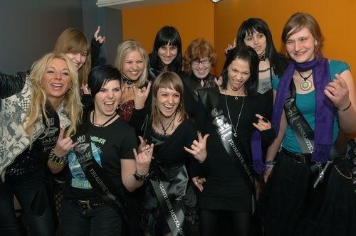 Finalistes Miss Metal 2011 voorgesteld