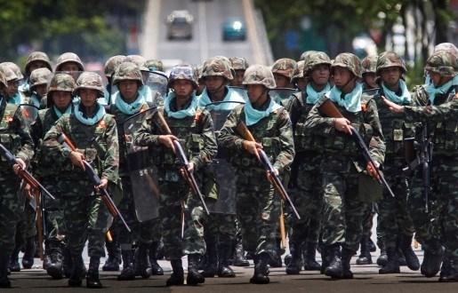 Oorlog op komst in Thaise hoofdstad Bangkok, opnieuw 1 dode