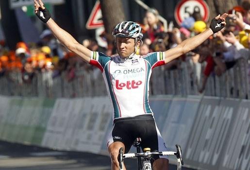 Matthew Lloyd wint zesde rit in Giro