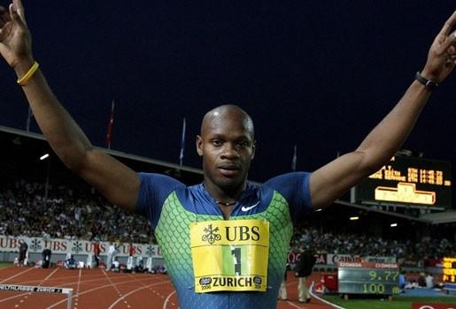 Asafa Powell wint 100 meter in 9.81