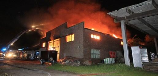 Zware brand in Turnhout