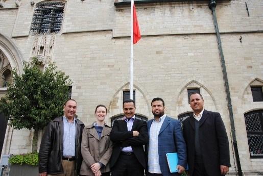 Delegatie Marokkaanse zusterstad bezoekt Mechelen