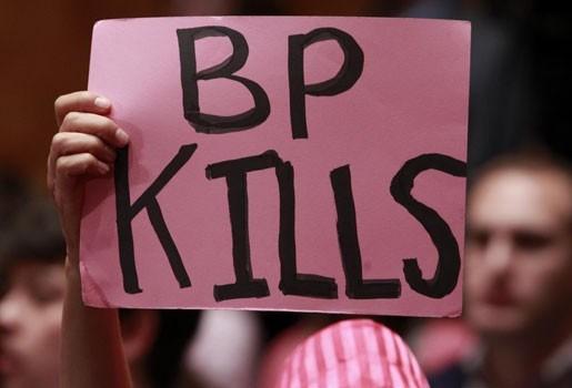 """""""BP misleidt ons over olieramp"""""""