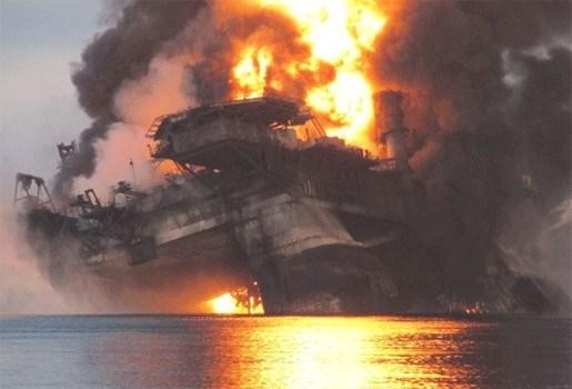 Platform dreigt olie te lekken in Noordzee