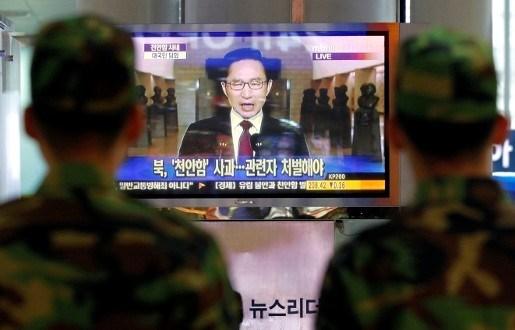 Zuid-Korea zet handel met Noord-Korea stop en vraagt sancties