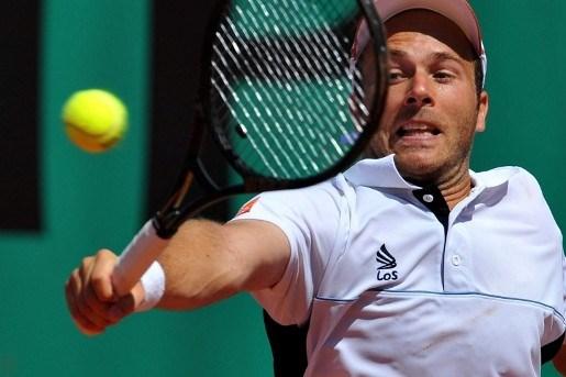 Olivier Rochus met moeite naar 2de ronde Roland Garros