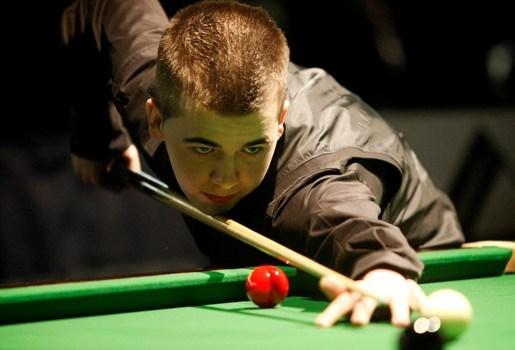 Luca Brecel (15) Belgisch kampioen snooker