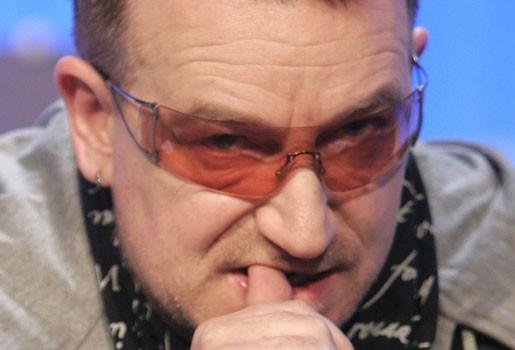 "Bono mist Glastonbury: ""Ben er kapot van"""