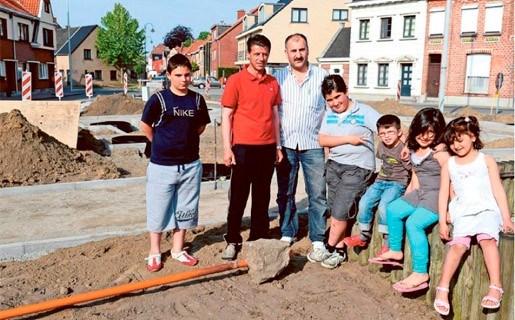 Aanleg 'plezierig pleintje' van start in Damputstraat